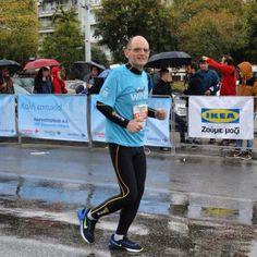 Finishing the 10km race
