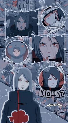 ░֟፝🗯️Konan Akatsuki Wallpaper⊗
