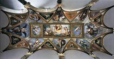 ALBANI, Francesco Ceiling vault of piano nobile loggia 1611-12 Fresco Palazzo Verospi, Rome