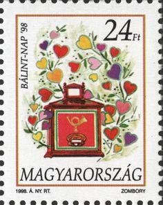 #3591 Hungary - Valentine's Day (MNH)