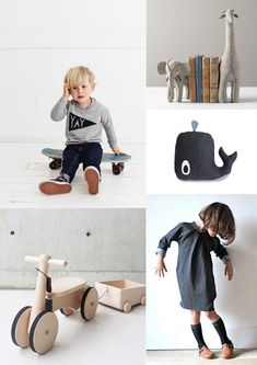 Love the stuffed giraffe and elephant as bookends