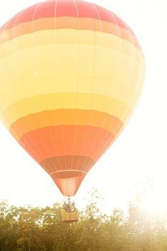 entrada da recepção via balão