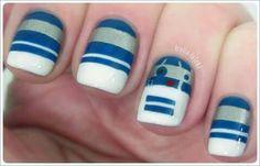 R2D2 nails #starwars