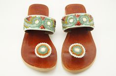 Celadon Beaded Paduka Sandals on eBay and Amazon for only $29.95 with FREE Shipping!