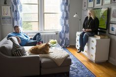 From homeowners to renters: A young couple's stylish approach to downsizing to a one-bedroom - The Washington Post