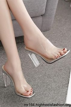 Sexy Legs And Heels, Hot High Heels, Dress And Heels, Womens High Heels, Black Heels, Clear High Heels, Black Booties, Open Toe High Heels, Dress Shoes