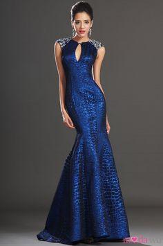 Parlak Mavi Elbise