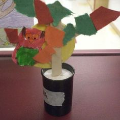 an owl craft that one of my kindergarteners made :)