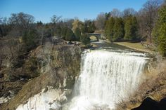 Hamilton is said to be the Waterfall Capital of the World. I personally thought this was crazy. Surely somewhere  exotic would be a more likely location for this designation. It has been discovered that this could very well be true. The drive to Hamilton is easy from Toronto being just West along the QEW. Surrounding areas such as Ancaster, Dundas, and Stoney Creek provide many of the waterfalls that you are going to want to check out.