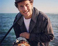 """""""Eu parei de pescar depois que um peixe me fez perceber que eu era um imbecil"""" #veganismo #direitosanimais"""