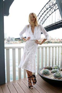 tuula vintage white skirt - Pesquisa Google