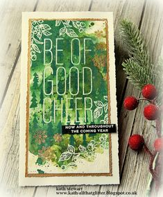 Kath's Blog......diary of the everyday life of a crafter: It's still Christmas In The Cubbyhole Snowflake Images, Mixed Media Cards, Beautiful Christmas Cards, Stampers Anonymous, Ranger Ink, Distress Oxide Ink, Distressed Painting, Good Cheer, Winter Cards