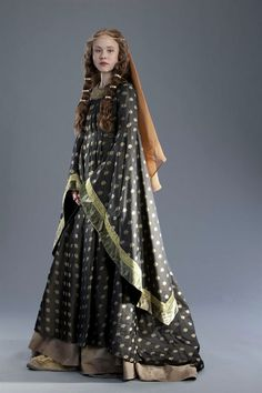 Gown from Medieval period drama: Pillars of the Earth