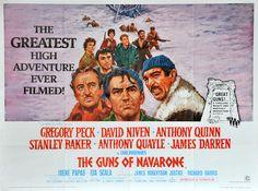 Filmposter The Guns of Navarone (1961)