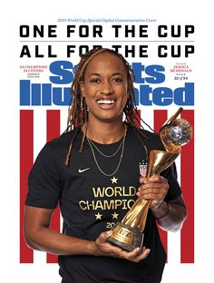 Jessica McDonald Sports Illustrated Commemorative Digital cover celebrating the USWNT 2019 World Cup champions, July Usa Soccer Team, Soccer Pro, Soccer Players, Soccer Stats, Live Soccer, Team Usa, Soccer Ball, Basketball