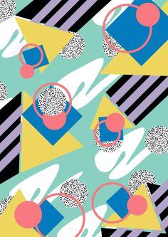 Memphis Design pattern inspiration