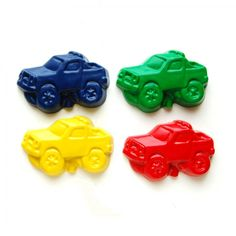 Monster Truck Party Favors - Package of 12