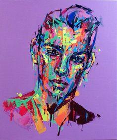 an ordinary person 24, acrylic on canvas, 53.0cm x 45.5, 2013