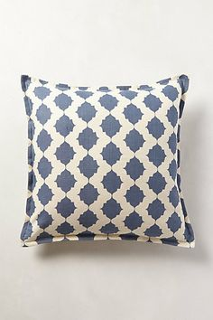 Gorgeous dusty blue white - simple, effective. #anthropologie