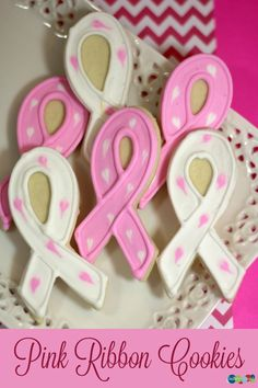 Pink Ribbon Cookies – Perfect to Show Our Support for Breast Cancer Awareness