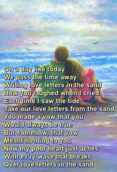 """""""Love Letters in the Sand"""" recorded by Pat Boone"""