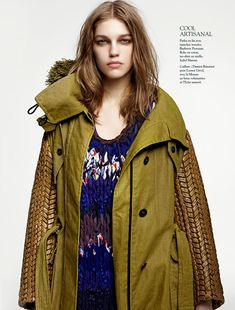 Samantha Gradoville by Jean-François Campos for L'Express Styles March 2012