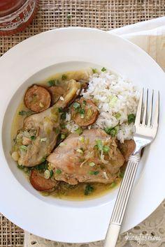 Skinnytaste  Chicken and Andouille Sausage   2-12-13