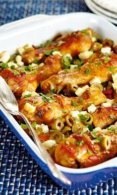 Broileria kasvispetillä | Maku Sweet Potato Soup, Tasty, Yummy Food, Sweet And Salty, Mellow Yellow, Kung Pao Chicken, Soup Recipes, Recipies, Food To Make
