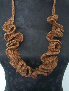 Necklaces - Häkelkette - a designer piece of Lone-like on DaWanda