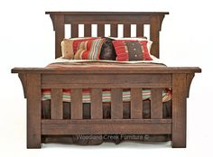 There is no other wood species that exemplifies strength and durability like oak. Our rustic oak bedroom furniture is handcrafted from reclaimed oak barn wood. This may be the most beautiful AND durable line of rustic furniture available in the marketplace. Please take notice of the vertical spindles and posts used in the bed. These are