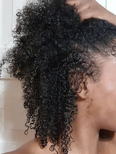Natural Hair Update - Curl Definition, Length Check & Curl Routine