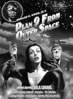 Vampira: Maila Nurmi-creepy cool role in Ed Wood's Plan 9 from Outer Space