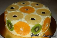 Tort diplomat pufos Cakes And More, Diy Food, Pineapple, Sweet Treats, Muffin, Good Food, Veggies, Food And Drink, Pudding