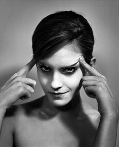 Emma Watson photographed by Vincent Peters