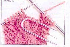 Como fazer trança de tricô. Até que fim, vou poder fazer tranças em minhas boinas.