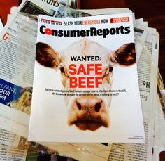 Consumer Reports study recommends you avoid conventionally raised grain-fed beef from feedlots and eat grass-fed beef. Butcher Box, Grass Fed Beef, Consumer Reports, Food Preparation, Grains, Safety, Ice Cream, Study, Foods