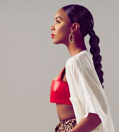 Kelly Rowland channels Diana Ross, Sade and others in hair cover shoot