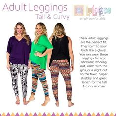 33abbc6f833ae3 LuLaRoe leggings for every body. Shop Tall & Curvy leggins at https:/
