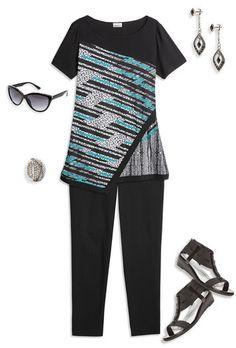Stylized Stripes,