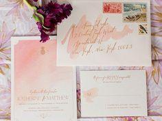 'Access Hollywood' Fashion Stylist Ashley Tarkington: My Favorite Wedding Invitations   TheKnot.com