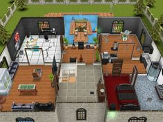 Cool sims freeplay house