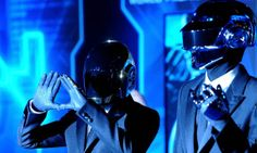 daft punk from TRON: legacy