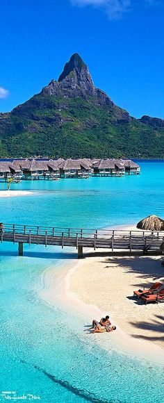 The InterContinental Bora Bora Resort & Thalasso Spa Vacation Places, Dream Vacations, Vacation Spots, Places To Travel, Vacation Destinations, Romantic Vacations, Italy Vacation, Places Around The World, The Places Youll Go