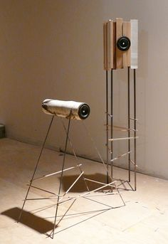 Symbiosis, speakers designed by Stanley Ruiz for Sounds Like, an exhibition curated by Joey Roth.