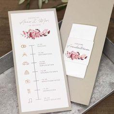 Vorlage Timeline Hochzeit für Word – Invitation Ideas for 2020 Wedding Icon, Diy Wedding, Rustic Wedding, Wedding Timeline Template, Wedding Templates, Wedding Booklet, Decoration Gris, Photo Wedding Invitations, Menu Cards