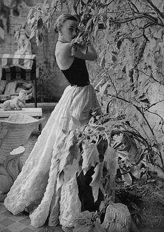 Vintage Fashion Photography, 1950's.