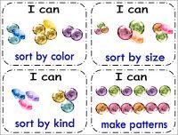 Fun Math Center for Kindergarten Kindergarten Fun, Preschool Math, Math Classroom, Teaching Math, Math Activities, Preschool Education, Preschool Ideas, Teaching Ideas, Classroom Ideas