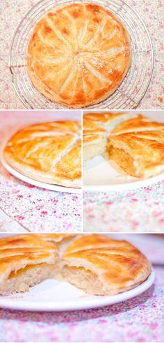 Galette des rois à la frangipane ou Pithiviers  -French Almond Paste Tart #recipe #baking