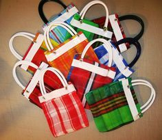Mexican Mercado Bag mini party favors free by AuthenticMexican, $11.00