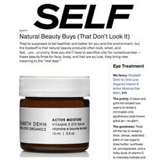 Natural Beauty Buys (That Don't Look It)